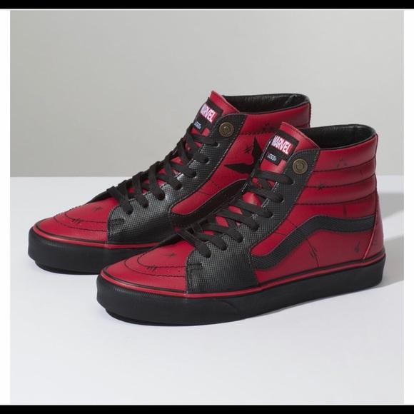 Vans Shoes | Vans Sk8 Hi Marvel